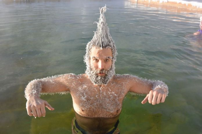 Конкурс замораживания волос