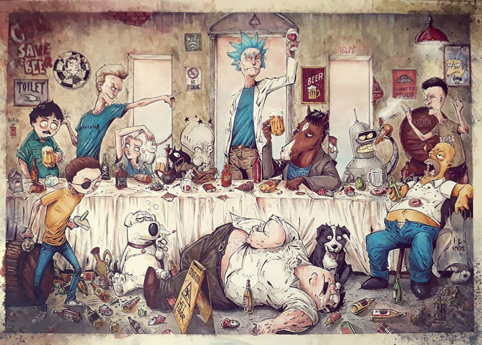 Rick & Morty, Beavis And Butthead, South Park, & Others