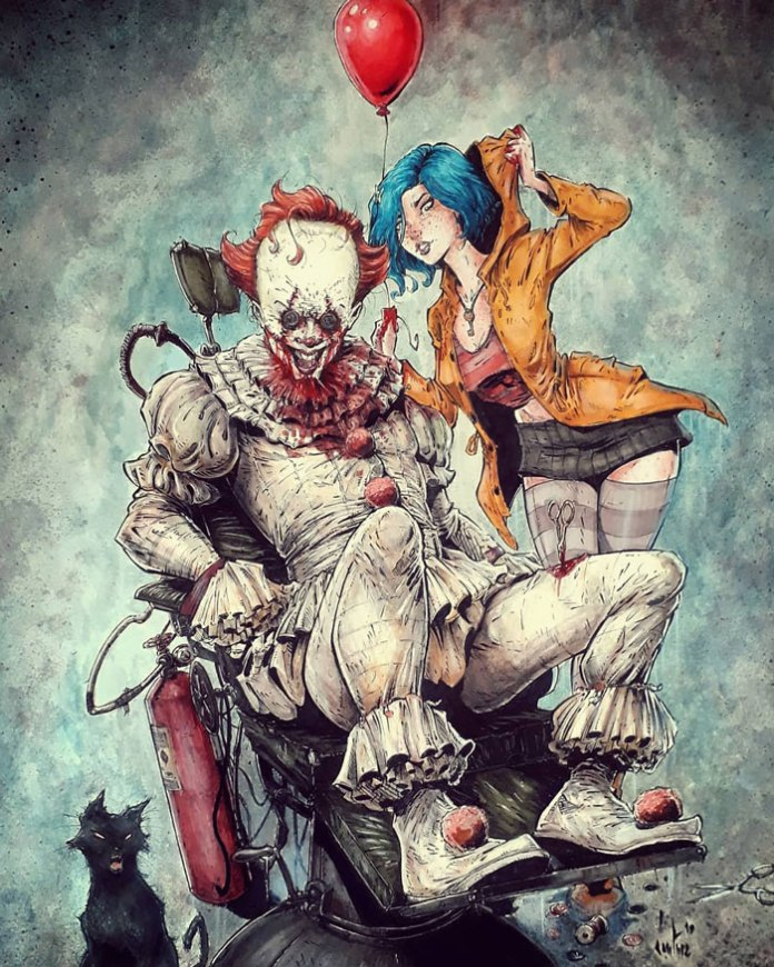 Pennywise & Coraline