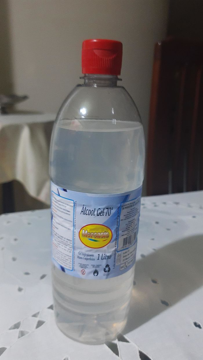 This Hand Sanitizer Bottle That Looks More Like A Drink