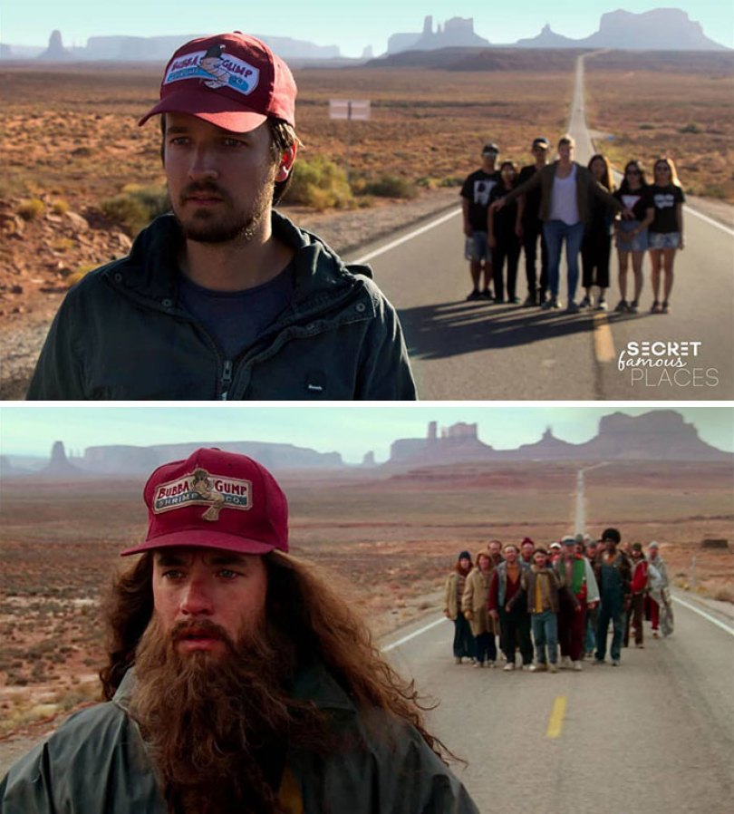 Forrest Gump / Monument Valley, EUA