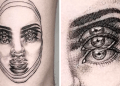 This Talented Mexican Tattoo Artist Specializes In 'Double Vision' Tattoos (23 Pics)