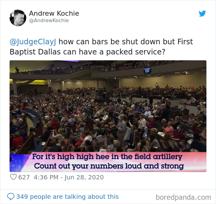 Churches Have Packed Crowds