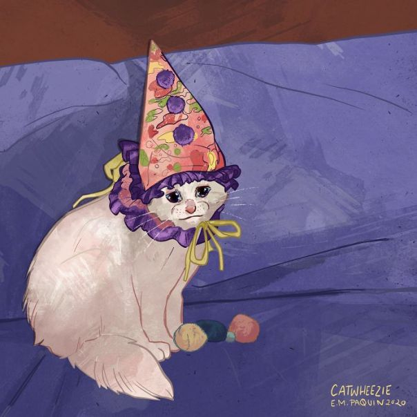 Drawing-Cats-Everyday-Em-Paquin