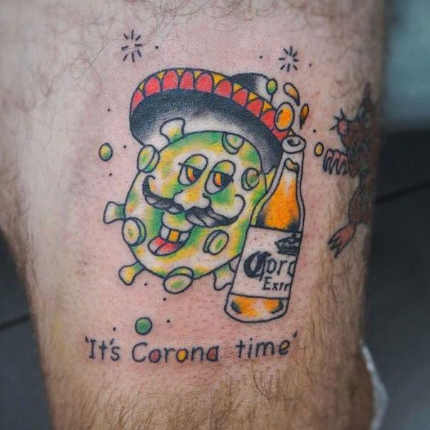 Coronavirus-Tattoos