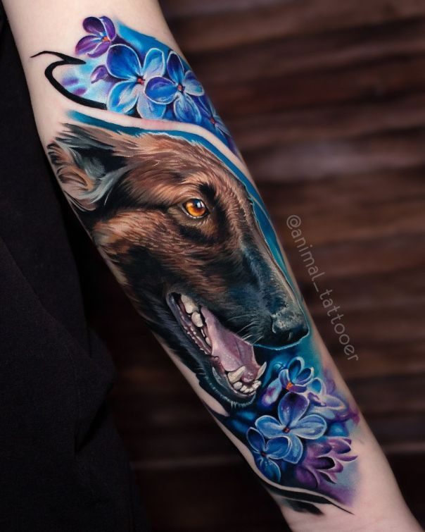 Russian Tattoo Artist Makes Amazing Realistic Tattoos Animal