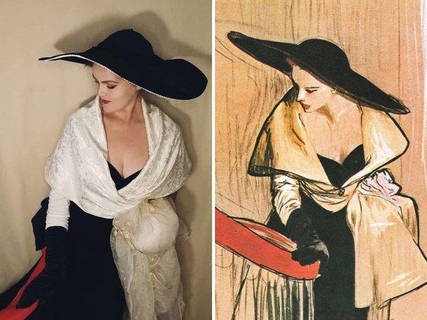 "René Gruau ""Illustration For Dior"" (~1950)"