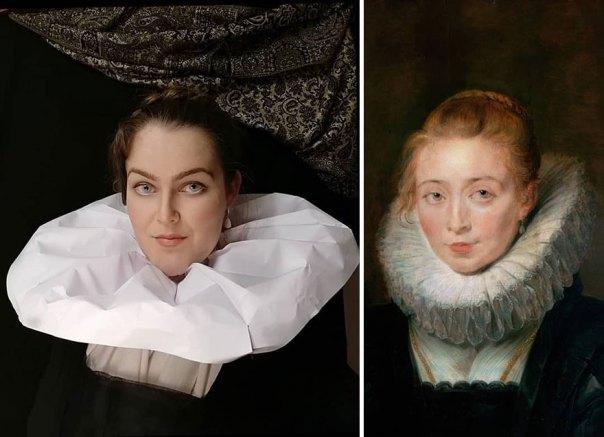 """Peter Paul Rubens """"Rubens's Daughter Clara Serena"""" (1623)"""