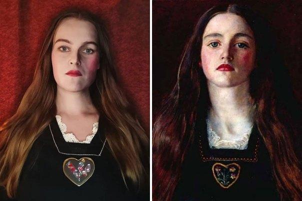 """John Everett Millais """"Sophie Gray"""" (1857)"""