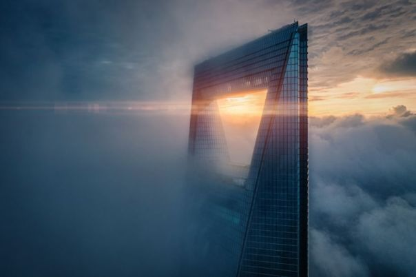 Urban Category Highly Commended: Sunrise On The Top