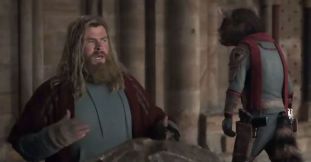 In Avengers Endgame, Fat Thor Is The Butt Of Many Jokes, This Is Because Marvel Thinks Survivor's Guilt And Ptsd Are Funny Subjects