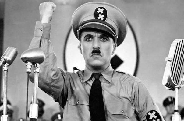 "In The Great Dictator (1940), Charlie Chaplin Used Two ""X"" Instead Of Swastika To Avoid Getting Demonetize On Youtube"