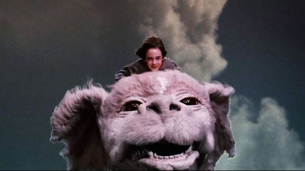 In The Film The Neverending Story (1984), If You Watch Closely At Around 1h45m You Can See That It Does Actually End