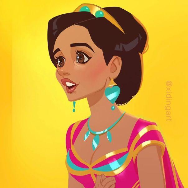 Naomi Scott (Princess Jasmine)