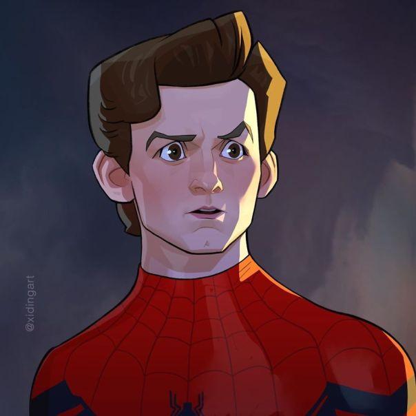Tom Holland (Peter Parker)