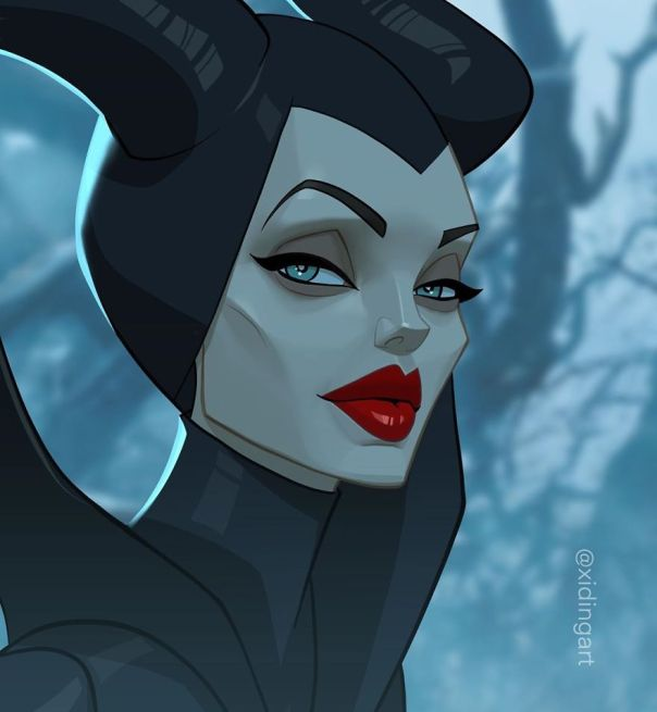 Angelina Jolie (Maleficent)