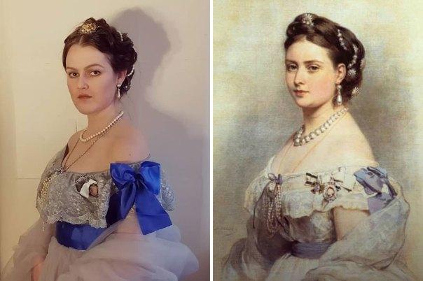 "Franz Xaver Winterhalter ""The Princess Victoria, Princess Royal As Crown Princess Of Prussia"" (1867)"