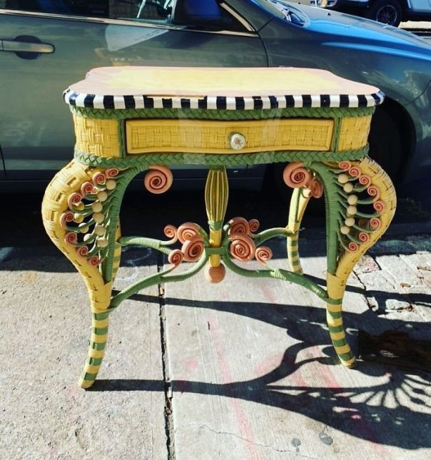 This Definitely Came From The House Of Beetlejuice. Available In Bushwick On Jefferson Street! Between Central And Evergreen
