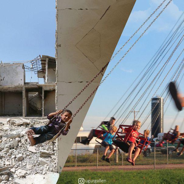Children Are Children First - Swings