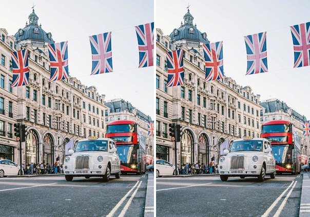 London Street (10 Differences)