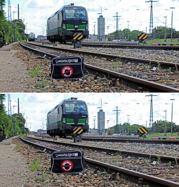 Train Track (14 Differences)