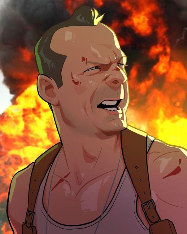 Bruce Willis (John Mcclane)