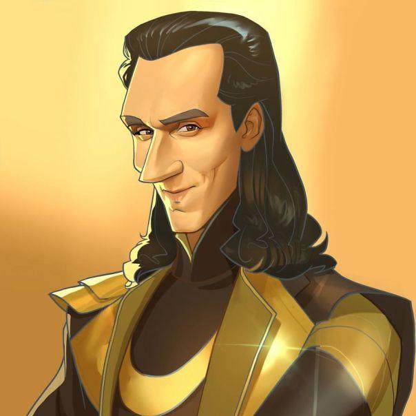 Tom Hiddlestone (Loki)