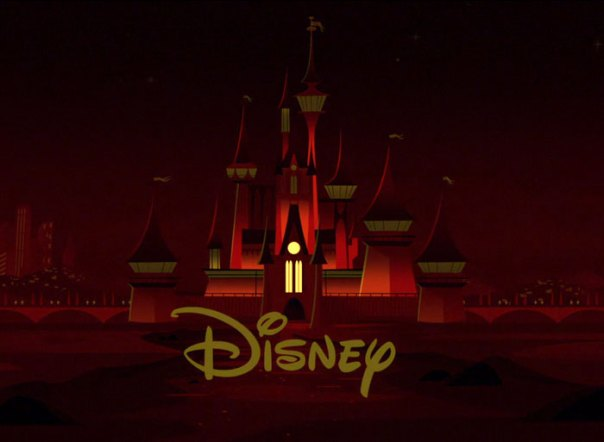 During The Opening Titles, The Windows On The Disney Castle Light Up To Make The Incredibles Logo