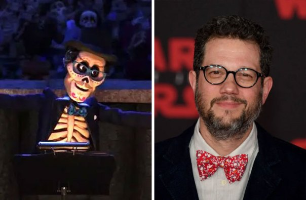 The Orchestra Conductor For De La Cruz's Big Show Is Designed After Michael Giacchino, Who Composed The Score For Coco