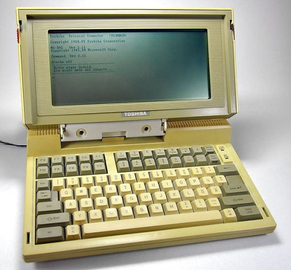 On Laptop Computers, 1985