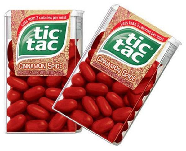 Cinnamon Tic Tacs