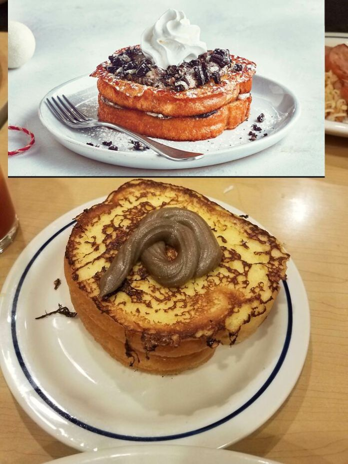 """My """"Cookies And Cream Stuffed French Toast"""" From Ihop"""