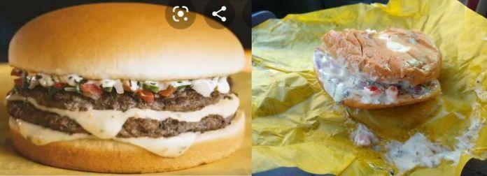 The Pico De Gallo Burger At Whataburger
