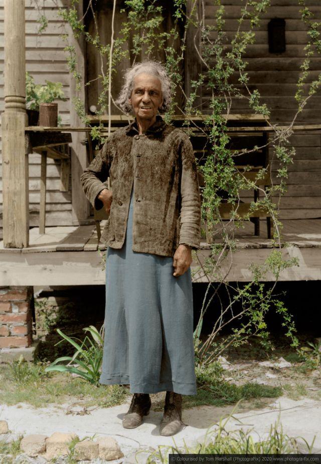 Kolorizirane fotografije kao prikaz strave robova u SAD-u 8