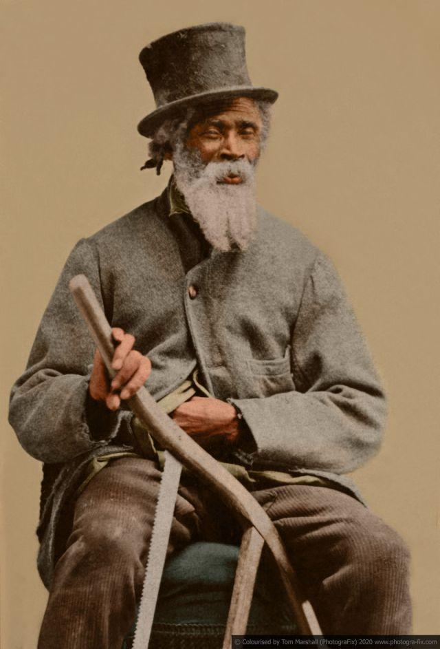 Kolorizirane fotografije kao prikaz strave robova u SAD-u 7