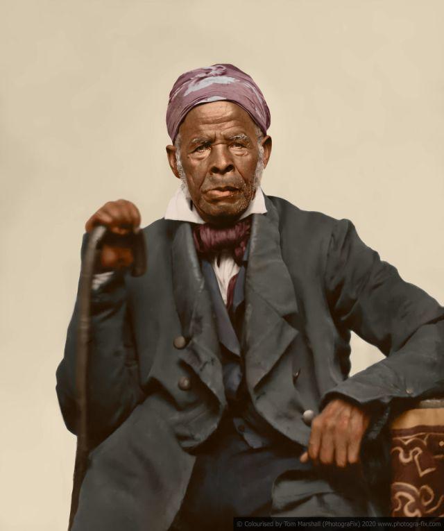 Kolorizirane fotografije kao prikaz strave robova u SAD-u 4