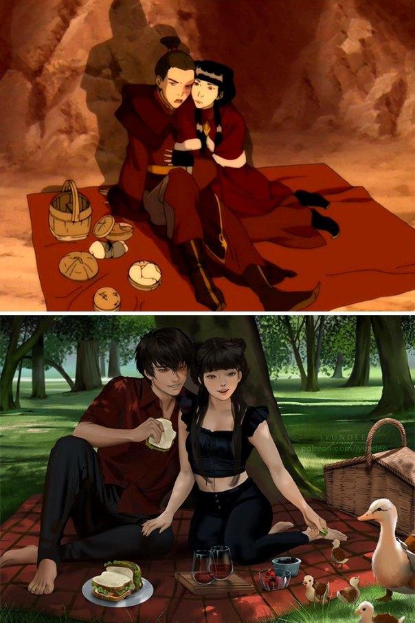 Zuko & Mai (Avatar: Last Airbender)