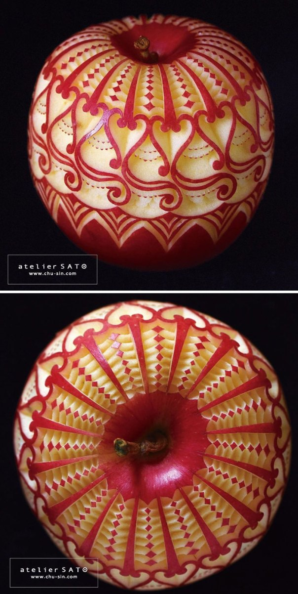 Fruit-Carving-Art-Tomoko-Sato