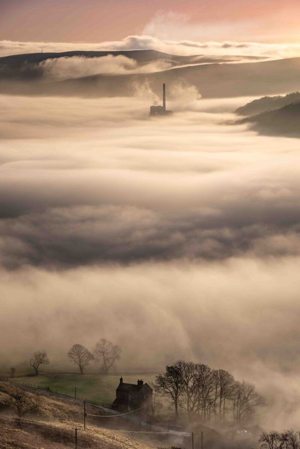 Changing Landscapes Runner Up: Wesley Chambers, 'The Cloud Factory', Derbyshire