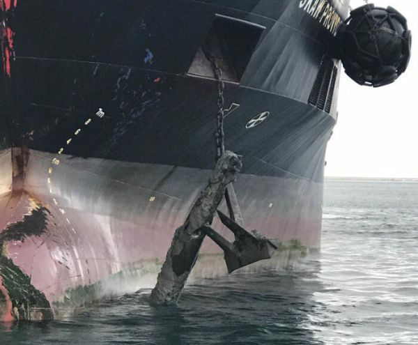 Raising Anchor Of Your Oil Tanker Only To Realize You've Hooked An Unexploded Torpedo