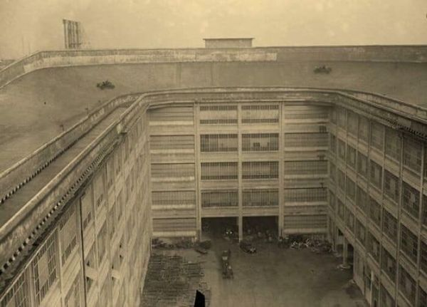 Fiat Had A Test Track On Their Factory Rooftop In 1929