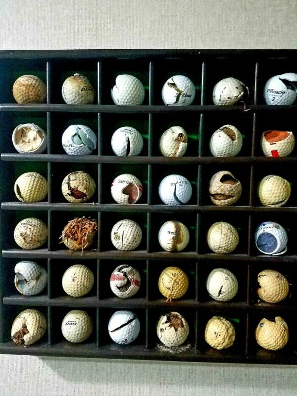 "My (87-Years-Old) Father's ""Ugly"" Golf Ball Collection"