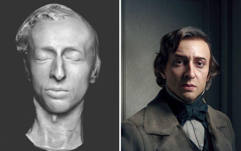 Artist creates stunning 3D portraits of great artists from the past 10 Pics 5fc0cfd85676d  880 - Artista digital revive personalidades com programa de modelagem 3D