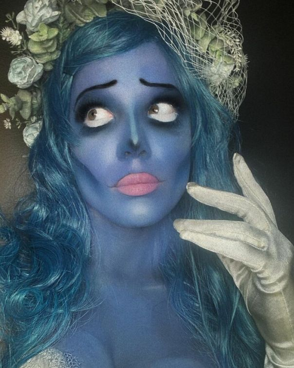 Halsey As Emily The Corpse Bride