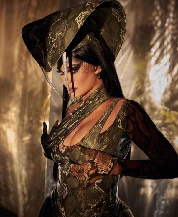 Kylie Jenner As A Snake