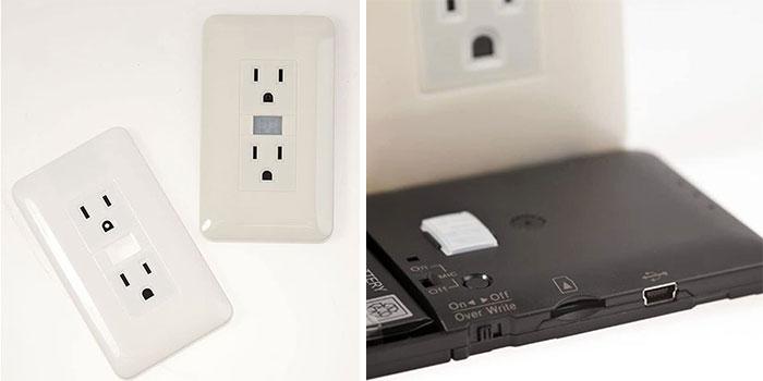 Outlet Hidden Camera