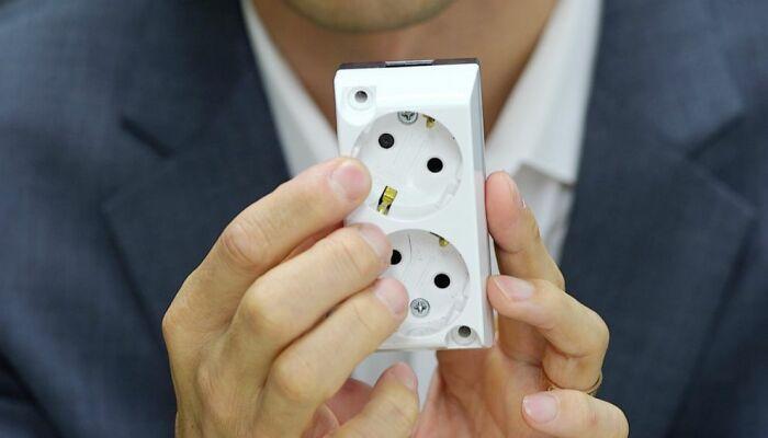 A Micro Camera Hidden Inside An Electric Socket