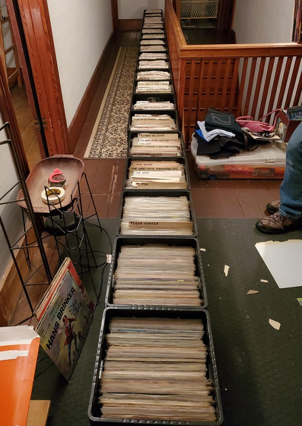 I Helped My Dad Alphabetize His Vinyl Collection