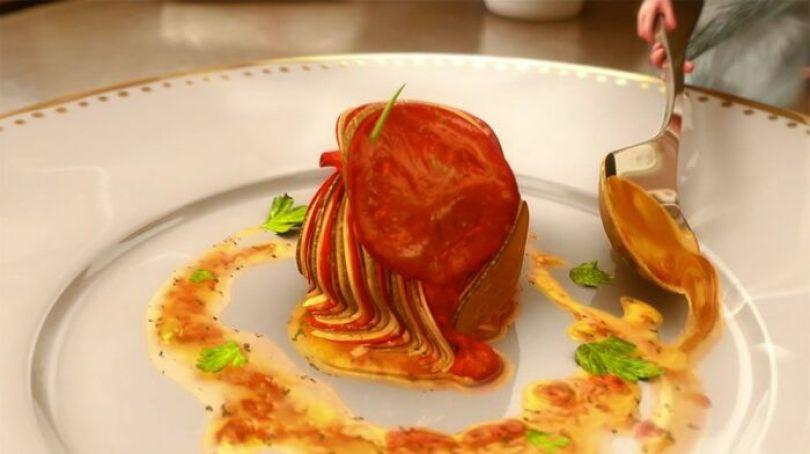 O Ratatouille que Rémy prepara foi projetado pelo Chef Thomas Keller. É uma receita real. Demora pelo menos quatro horas para fazer