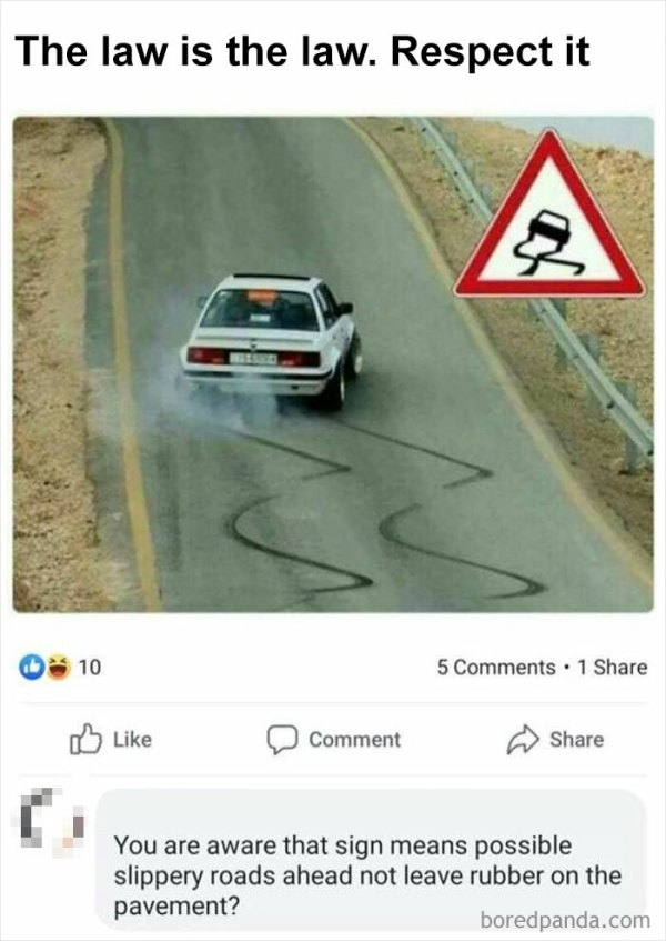 Cars, Laws, Signs